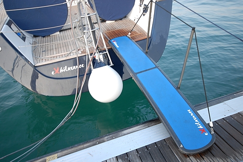 Exit Carbon Sailing Worry Free Carbon Boat Gangways