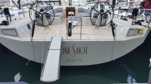 Wheels 105 and Gangway Aurora 216 on Yacht 68 by Solaris